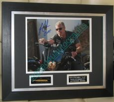 BULLET SPECIAL RON PERLMAN  SIGNED  'Clay'  SONS OF ANARCHY' GUARANTEED AUTHENTIC